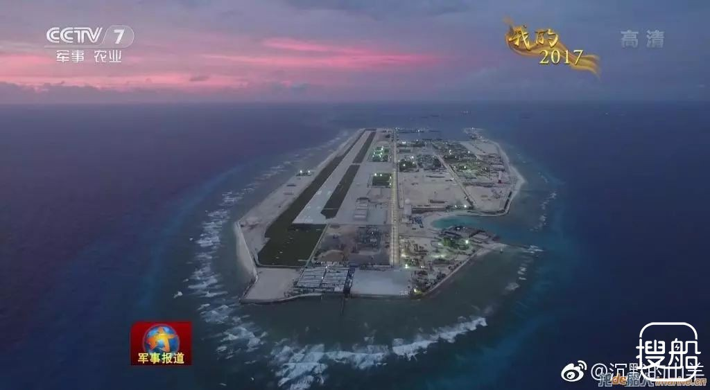 鬼斧神工!央视曝光中国南海永暑礁最新