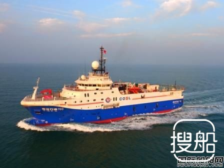 我国自主建造的深水物探船首赴南美洲作业