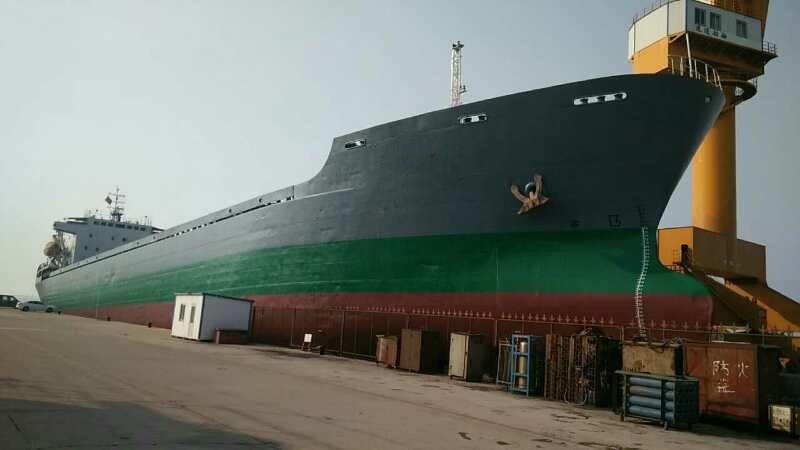 出售17219吨散货船(矿沙船)