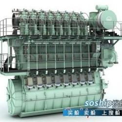 498b柴油机马力是多少 船用柴油机 MAN B&W S50MC-C8