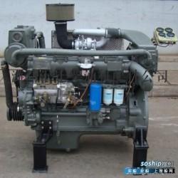 潍柴6170船用柴油机 潍柴船用柴油机6170空气中冷器