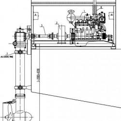 船舶推进器 无动力船舶加装全回转推进器