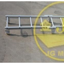 8米铝合金伸缩梯子价格 供应船用铝质便携梯-AP型