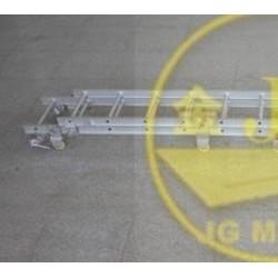 8米铝合金伸缩梯子价格 供应船用铝质便携梯-BS型