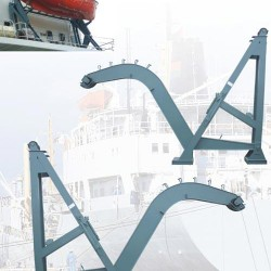 新式重力式大臂破碎锤 重力倒臂式吊艇架