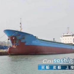 干货船 售2003年3350吨干货船