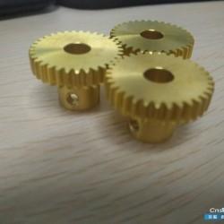 洛阳众悦精密轴承 加工厂家精密非标铜产品加工车件加工轴承加工CNC加工齿轮件