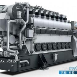 船用双燃料发动机 供应曼MAN船用双燃料发电机组(590KW~5,115KW)