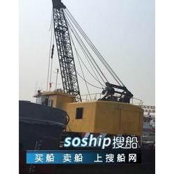 抓斗挖泥船出售 出售8m³抓斗式挖泥船