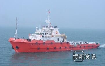 上海船舶研究设计院获三用工作船设计订单