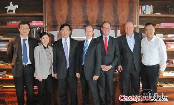 新韩通与德国船东CONTI公司签订64K造船合同