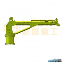 主臂支座开焊 设计伸缩臂海洋支座海洋起重机公司