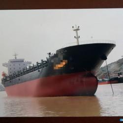目前最大的集装箱船 出售18500吨集装箱船