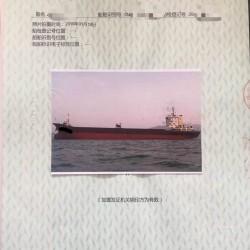 沿海5000吨散货船二手船出售 出售5152吨散货船