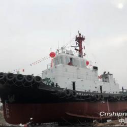 拖轮船员工资表 售2019年新造4000马力全回转拖轮