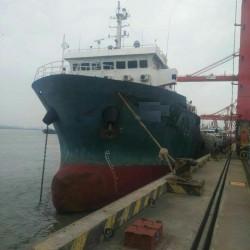 出售4992吨集装箱船