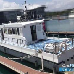 转让玻璃钢交通船17米