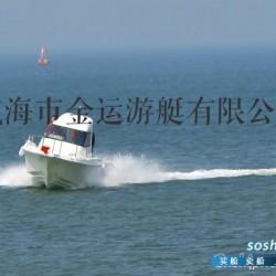 供应全新的金运7.65米玻璃的钓鱼艇