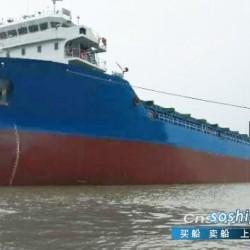 出售2016年安徽造890箱集装箱船