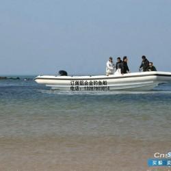 8.8米钓鱼专用船铝合金船快艇