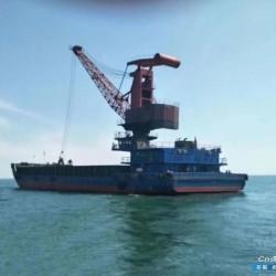 出售2016年江苏建造实载甲板过驳货船