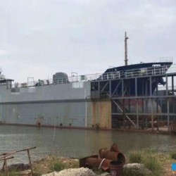 售4500吨举力2013年造浮船坞