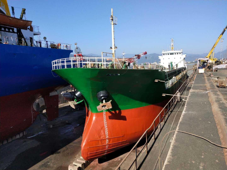 出售2003年11月4600吨散货船