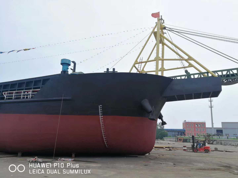 出售2019年9月江苏造5000吨自卸砂船
