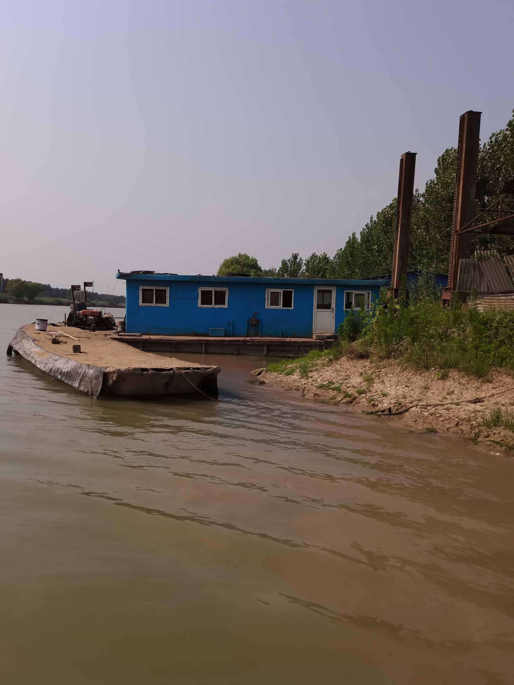定位桩挖泥船出售