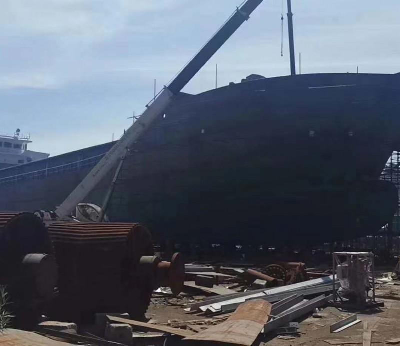 出售2020年在建6500T沿海自吸自卸皮带船