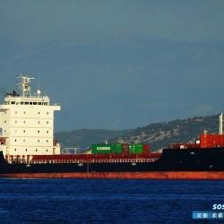 出售750箱集装箱船