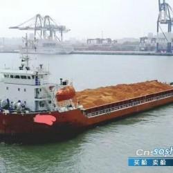 出售5143吨前驾驶甲板货船