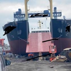 出售5150吨自航甲板驳